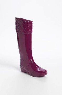 Hunter 'Rigley' Rain Boot (Women) available at #Nordstrom