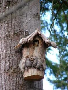 Squirrel House With Porch I So Need To Build One Of These