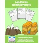 Landforms Writing Prompts - Here are 16 Landform-themed Writing Prompts to help your students understand the definitions of each term and practice their writing skills.