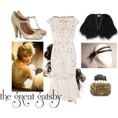 """My Great Gatsby-Themed Outfit"" by waterfire on Polyvore"