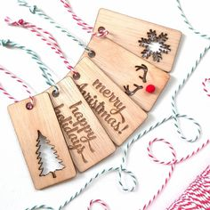Attention all holiday shoppers! A little something to perk up your gift boxes CHRISTMAS GIFT TAG SET (IDR 75k) #marigoldgoodies #madeinindonesia #gifttag #christmasgifttag #christmastag #giftwrapping #christmas #lifestylegoods #homegoods #wood #bakerstwine #lasercut by marigoldgoodies