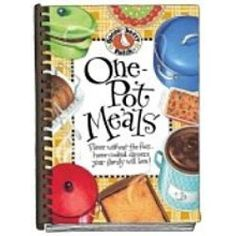 One-Pot Meals Cookbook! We just love the cozy feeling of sitting down with our family to a home-cooked dinner! It's even better when dinner is cooked in just one pot or pan…comfort food that lets you relax with your family while a full-of-flavor dinner is simmering! http://websites-buy.com/gooseberrypatch-homestylecookbooks
