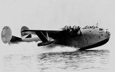 Martin XPB2M-1 Mars take off July 3, 1942