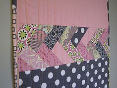 Great back to a quilt... Add french braid. Tutorial included.