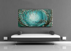 LARGE OIL PAINTING Wall Art Canvas Art Wall Decor Original