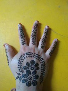 Hand Henna, Mehndi, Hand Tattoos, Mehendi, Hennas, Arm Tattoos