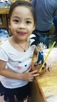 Yenji Clay Craft's Basic Cutie Course student project.