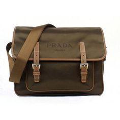 £140.00 Real Prada Messenger Kahki 9810 New York