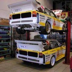 My idea of a Nice garage