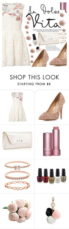 """""""Untitled #2158"""" by anarita11 ❤ liked on Polyvore featuring RED Valentino, Head Over Heels by Dune, Christian Louboutin, Accessorize and GUESS"""