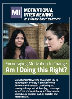 Motivational Interviewing Reminder Card <  includes 11 questions to help practitioners build self-awareness about their attitudes, thoughts, and communication style as they conduct their work.