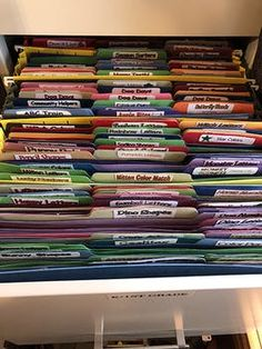 264 Printable File Folder Games For Preschool Grade! Homeschool Montessori Teacher Early Education Daycare After School - Everything About Kindergarten File Folder Games, File Folder Activities, File Folders, File Folder Organization, Daycare Organization, Storage Organization, Preschool Special Education, Early Education, Education Jobs