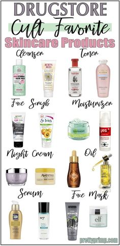 The best drugstore skincare products that have reached cult status and perform as good as high end brands!