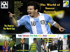 Lionel Messi, Artgentina, Barcelona FC (La Liga, Spain), The World of Soccer Poster Serioes, Road to Brazil 2014 FIFA World Cup, The Top 1000 Best Soccer Players Messi 10, Lionel Messi, Soccer Poster, Good Soccer Players, Fifa World Cup, Fc Barcelona, Brazil, Spain, Baseball Cards
