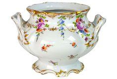Dresden Sugar Bowl on OneKingsLane.com Dresden China, Sugar Bowls, China Patterns, Tea Time, Ceramics, Tableware, Antique China, Places, Ceramica