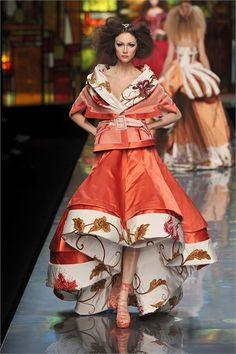 Christian Dior - Haute Couture Spring Summer 2009 - Shows - Vogue.it