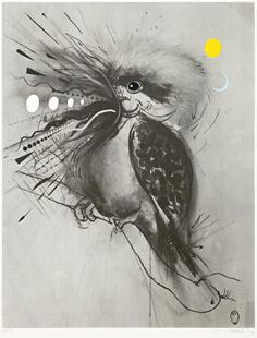 View Kookaburra by Brett Whiteley on artnet. Browse upcoming and past auction lots by Brett Whiteley. Australian Painting, Australian Artists, Avant Garde Artists, Bird Artwork, Poster Prints, Art Prints, Art Courses, Fantastic Art, Animal Paintings