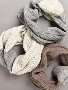 cable infinity scarf