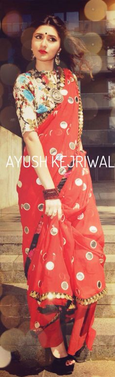 Saree by Ayush Kejriwal For purchases email me at ayushk@hotmail.co.uk or what's app me on 00447840384707 ❤️