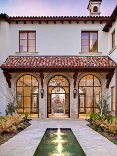 Mediterranean Exterior Design, Pictures, Remodel, Decor and Ideas - page 11