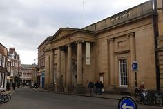 The Assembly Rooms, York, designed by Lord Burlington, via Wikipedia Commons