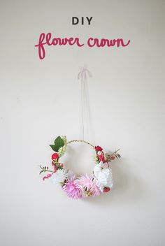 DIY flower crown | Inspired to Share