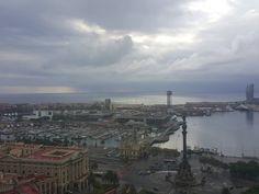 Cloudy Barcelona