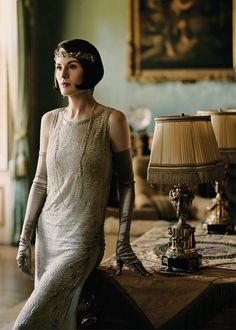 Variety | 'Downton Abbey': Behind-the-Scenes Photos of the Final Season | Michelle Dockery as Lady Mary