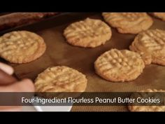 "Weight Watchers Recipe of the Day: 4-Ingredient Flourless Peanut Butter Cookies As soon as I saw this recipe for Easiest-Ever Peanut Butter Cookies, in a recent issue of Woman's Day, I knew I had to give them a try. What got my attention? Well, first the name – I'm all about easy, so ""Easiest Ever""...Read More"