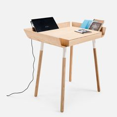 Small My writing desk with drawer by Emko.  A writing desk, designed for the working people. For the creative people. People who know the value of efficient work.