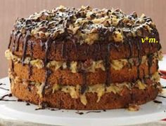 Be A Showstopper With This German Chocolate Cake! - Page 2 of 2 - The Baking Bit German Chocolate, Chocolate Cake, My Best Recipe, Cake Pans, I Foods, Cupcake Cakes, Cupcakes, Good Food, Cooking Recipes