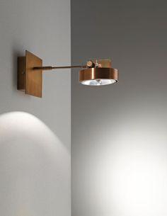 Wall Mounted Work Lights : roy parete Alvaline Viabizzuno progettiamo la luce Amazing Lighting Pinterest Lights