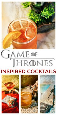6 Game of Thrones Inspired Cocktails