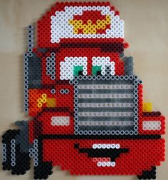 Mack Cars hama perler beads
