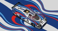Liveries inspired by hippies and battleships, re-imagined by Mark Lacey | Classic Driver Magazine