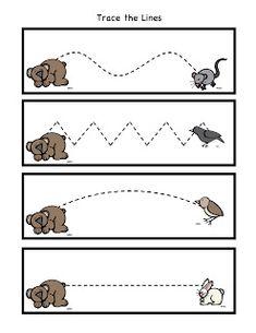 Preschool Printables: Bear Snores