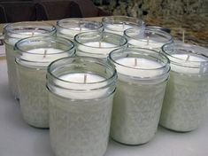 DIY 50 Hour Candles