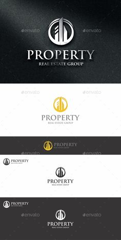 Property Estate Logo — Photoshop PSD #quality #real estate • Available here → https://graphicriver.net/item/property-estate-logo/14031638?ref=pxcr