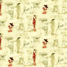 Dolls House Wallpaper 1/12th 1/24th scale Paris Quality Paper #316