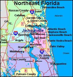 Jacksonville Florida Zip Code Map.26 Best Destination Retirement Images On Pinterest Retirement