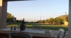 Villa Lofos , Περιβόλια, Ελλάδα Crete Holiday, Sidewalk, Villa, Patio, Outdoor Decor, Home Decor, Decoration Home, Terrace, Room Decor
