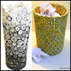 DIY Recycled Magazine Basket Ideas - Life Chilli