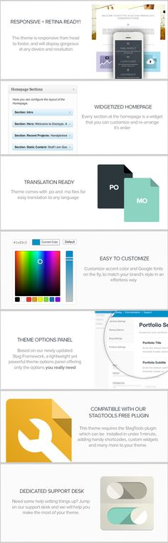 Free Download – Doctype – A Flat and Minimal Portfolio WordPress Theme