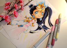 Chibi Lotus Karma by Lighane.deviantart.com on @DeviantArt