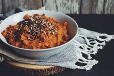 sweet, savoury and super creamy! Be sure to add our easy vegan sweet potato  mash to your holiday feast this year.
