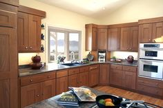Tiburon home with Asian influence - contemporary - kitchen - san francisco - by Mahoney Architects & Interiors