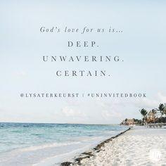 Do you ever feel desperate for love?   @LysaTerKeurst #UninvitedBook