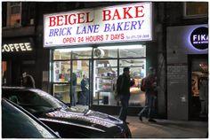 ginger in the basement.: Lokaltipp London: Beigel Bake. Brick Lane