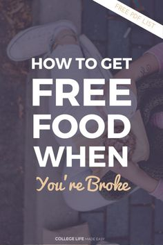 How to Get Free Food | College Hacks | Life Hacks for College Students | College Hacks | List of Birthday Freebies | Free Food on Your Birthday List | Saving Money Tips & Ideas | College Budget Tips & Tricks | Where to Get Food When You're Broke | Cheap F
