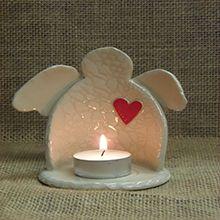 Angel heart Stable Door Pottery, West Cork, Ireland crafts.